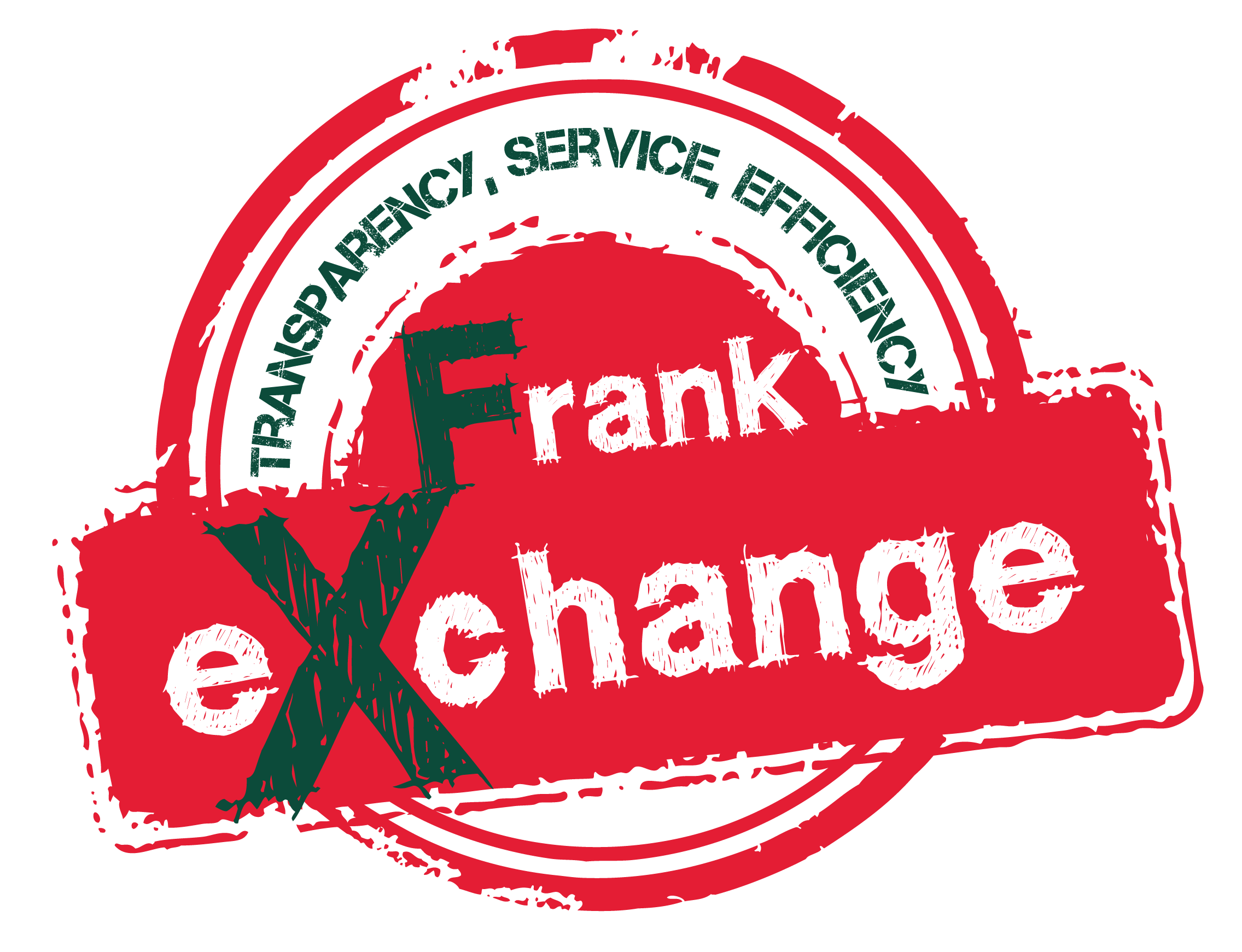 Red Logo Transparent FrankExchange